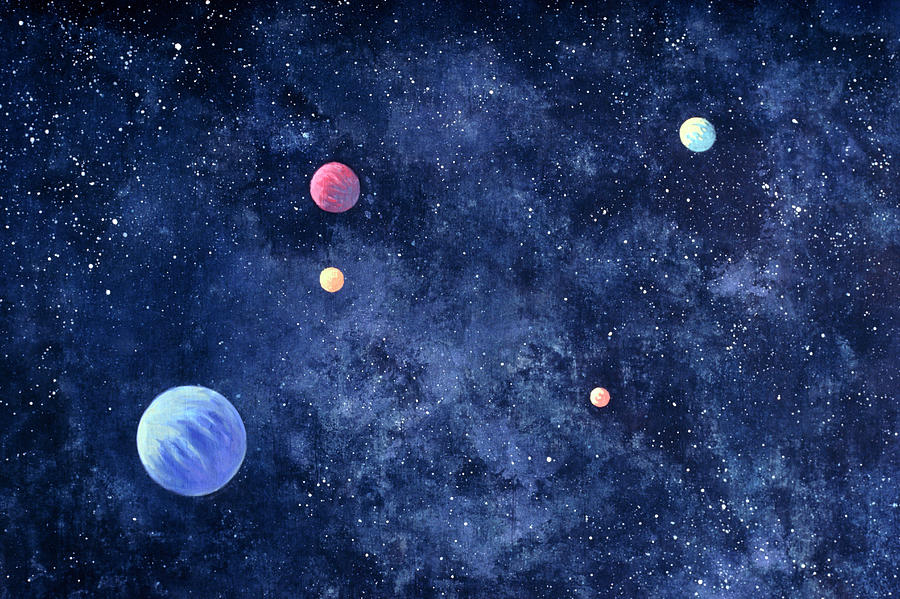 Planets In Solar System Photograph by Huntstock