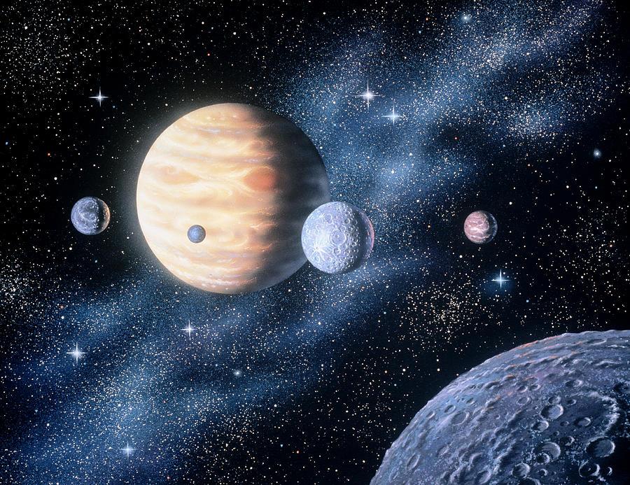 Planets Digital Art by Shilo Sports