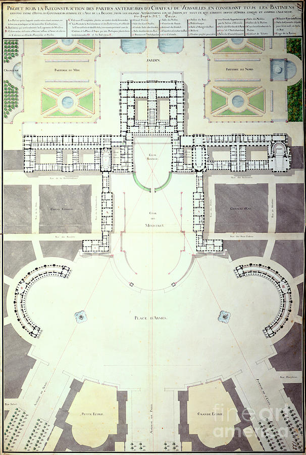 Plans For The Transformation Drawing by Print Collector