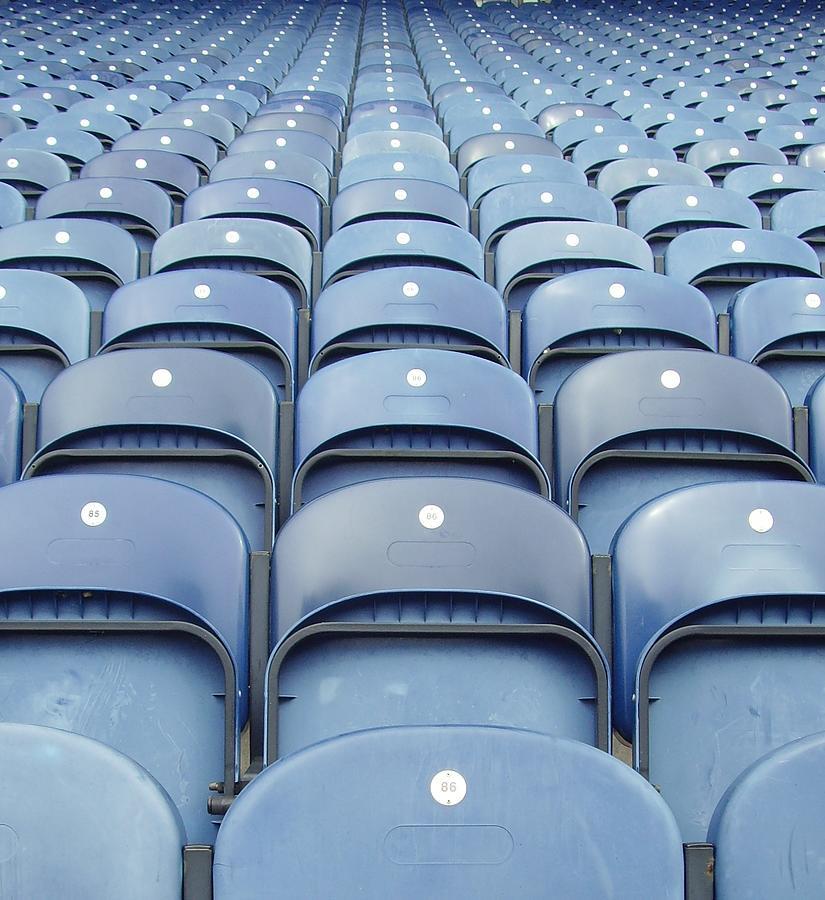 Plastic Seats Photograph by Tony Worrall Foto