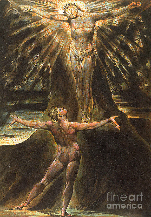 Plate 76 from Jerusalem by William Blake