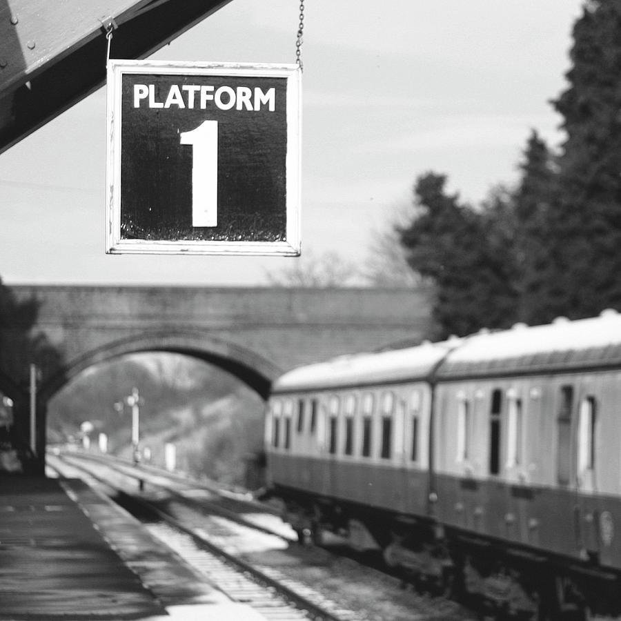 Platform One Photograph by Michael Sullivan