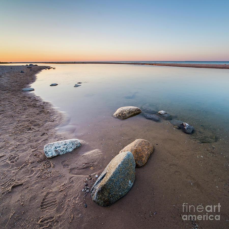 Platte River Photograph - Platte River Square by Twenty Two North Photography