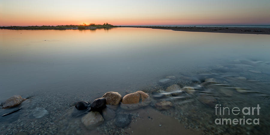 Platte River Photograph - Platte River Sunset 2x1 Panorama by Twenty Two North Photography