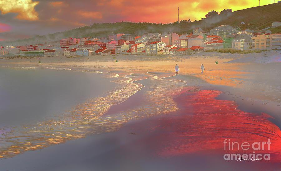 Playa de Tarde by Alfonso Garcia