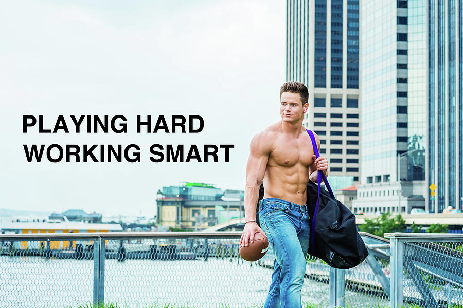Playing Hard, Working Smart by Alexander Image
