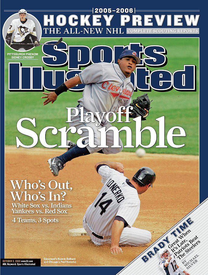 Playoff Scramble Whos Out, Whos In Sports Illustrated Cover Photograph by Sports Illustrated