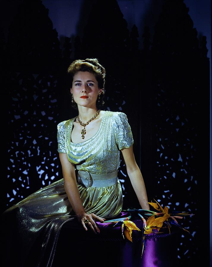 Playwright Clare Boothe Luce Photograph by Horst P. Horst