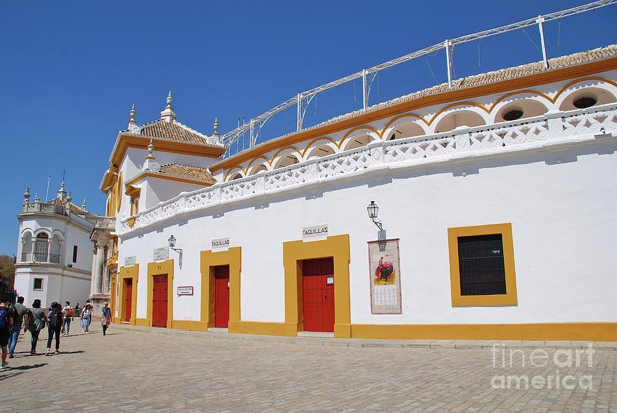 Plaza de Toros in Seville by David Fowler
