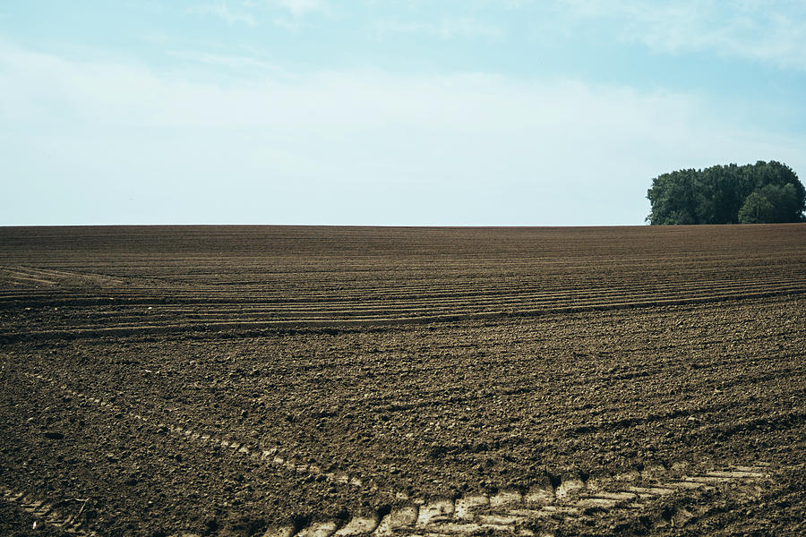 Ploughed Land Landscape by Pati Photography