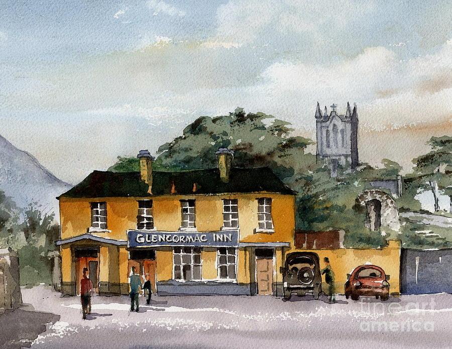 Plucks Pub, Kilmacanoge  by Val Byrne