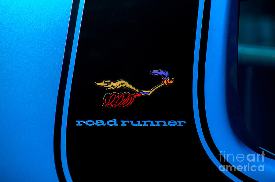 Plymouth Roadrunner Decal by Anthony Sacco