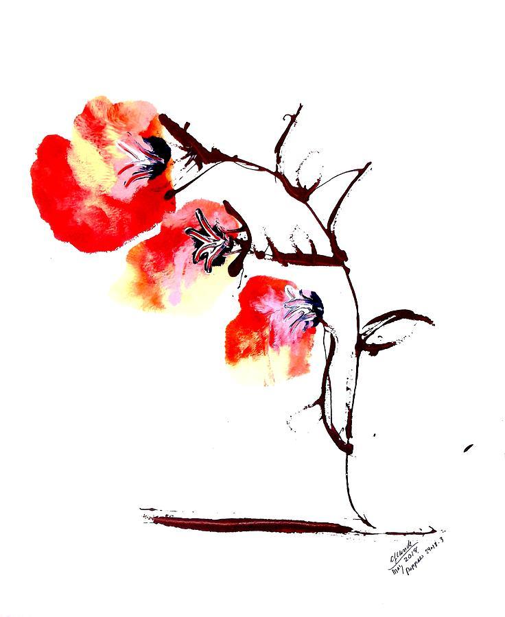 POCKET FLOWERS Three by Cj Carroll