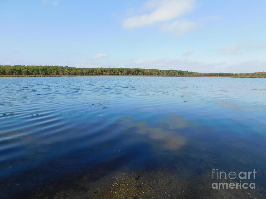 Poconos Country Lake by Barbra Telfer