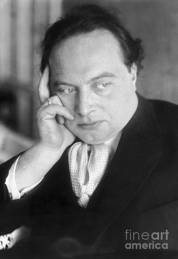 Poet Franz Werfel Photograph by Bettmann