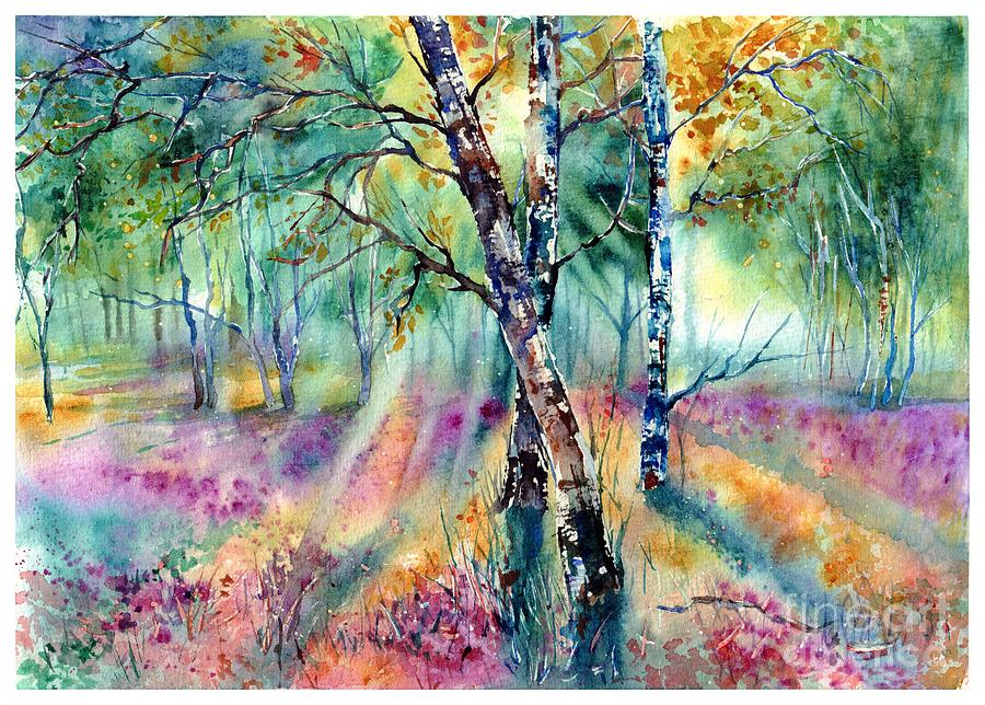 Summer Painting - Poetry Of Summer by Suzann Sines