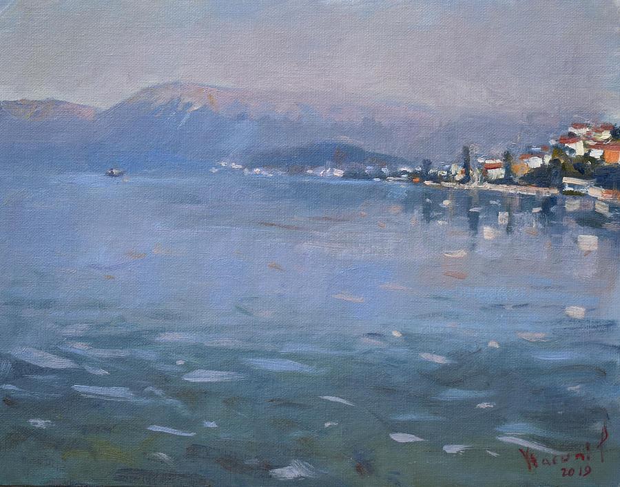 Albania Painting - Pogradeci Albania by Ylli Haruni