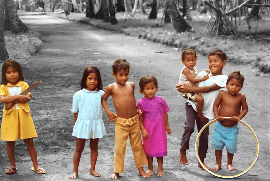 Pohnpei Kids Photograph