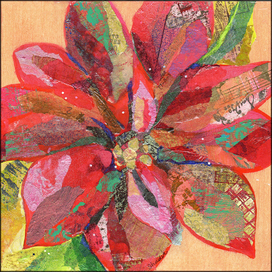 Poinsettia 1 Painting