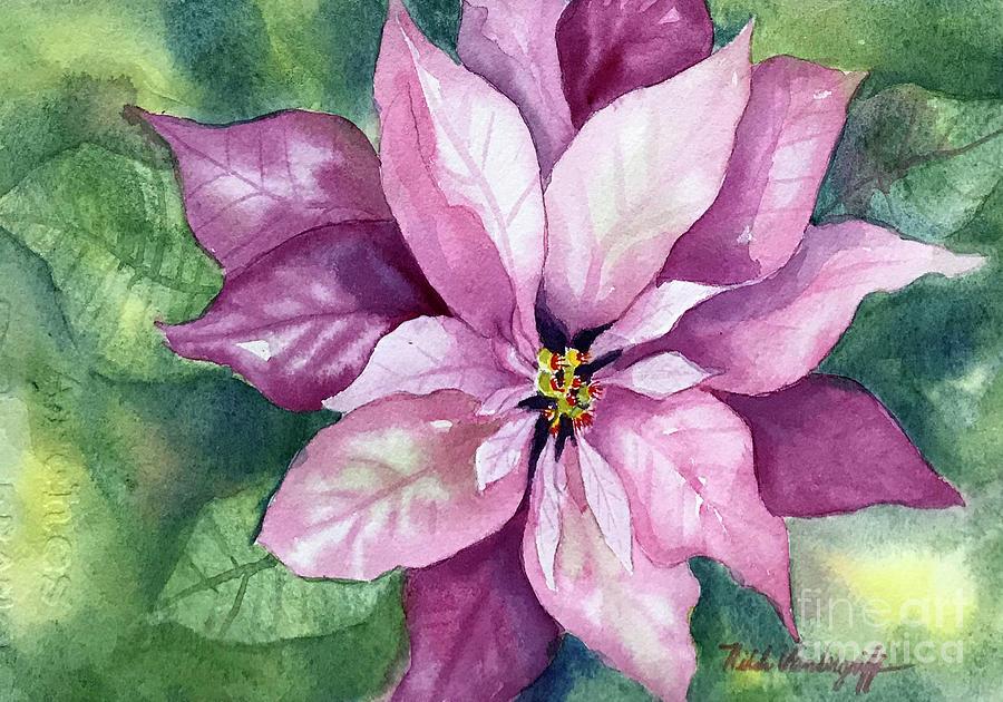 Poinsettia by Hilda Vandergriff