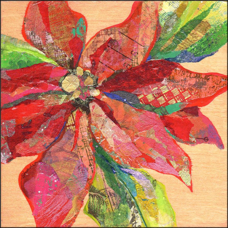 Poinsettia II Painting