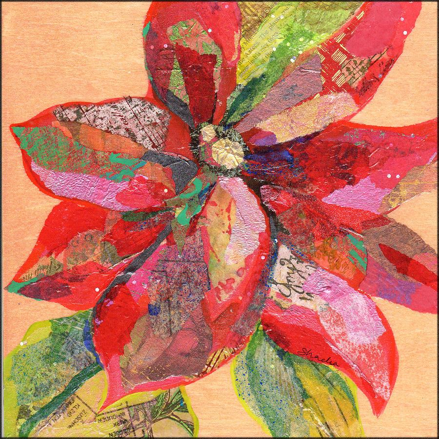 Poinsettia IIi Painting