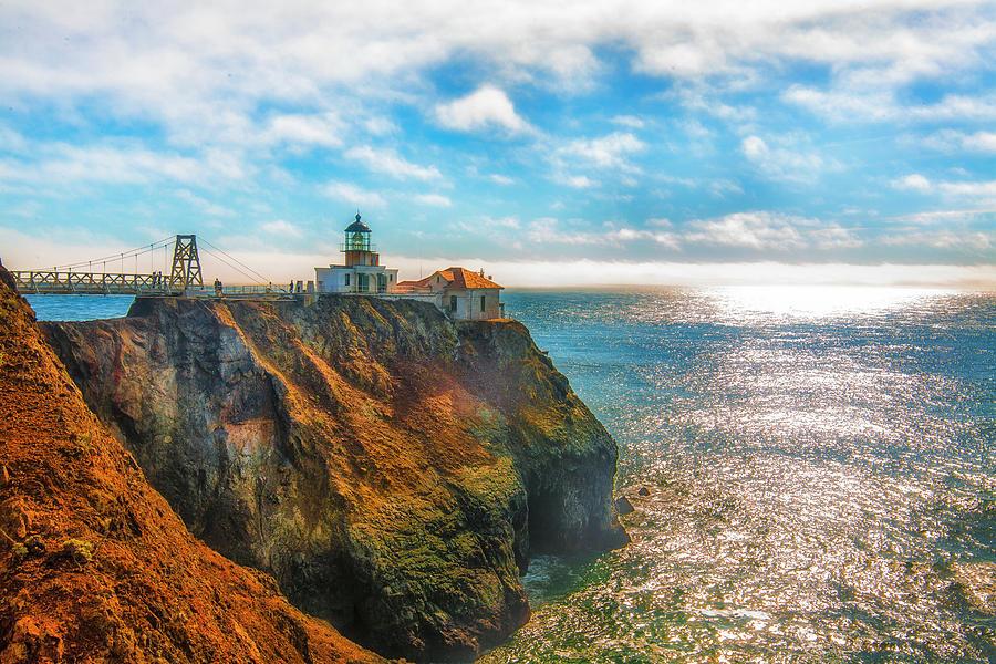 California Photograph - Point Bonita Lighthouse by Fernando Margolles