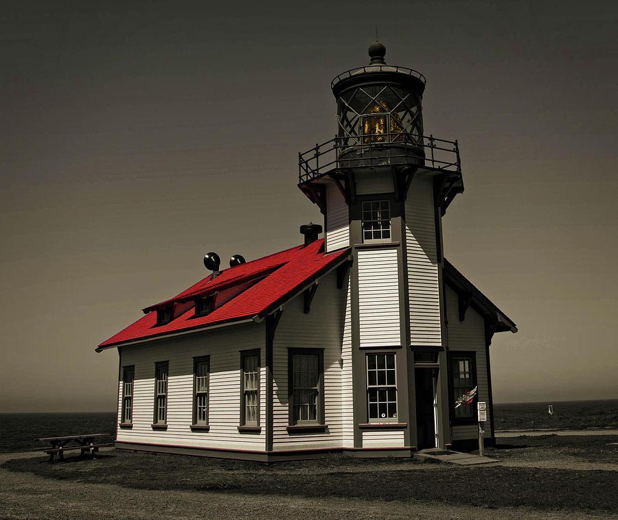 Point Cabrillo Light Station by Thom Zehrfeld