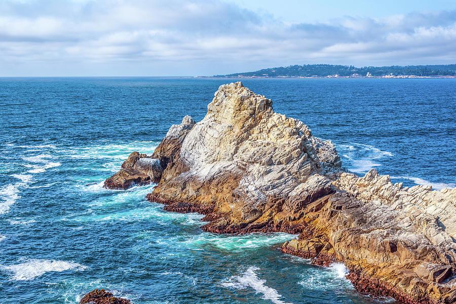 Point Lobos Rocks by Joseph S Giacalone