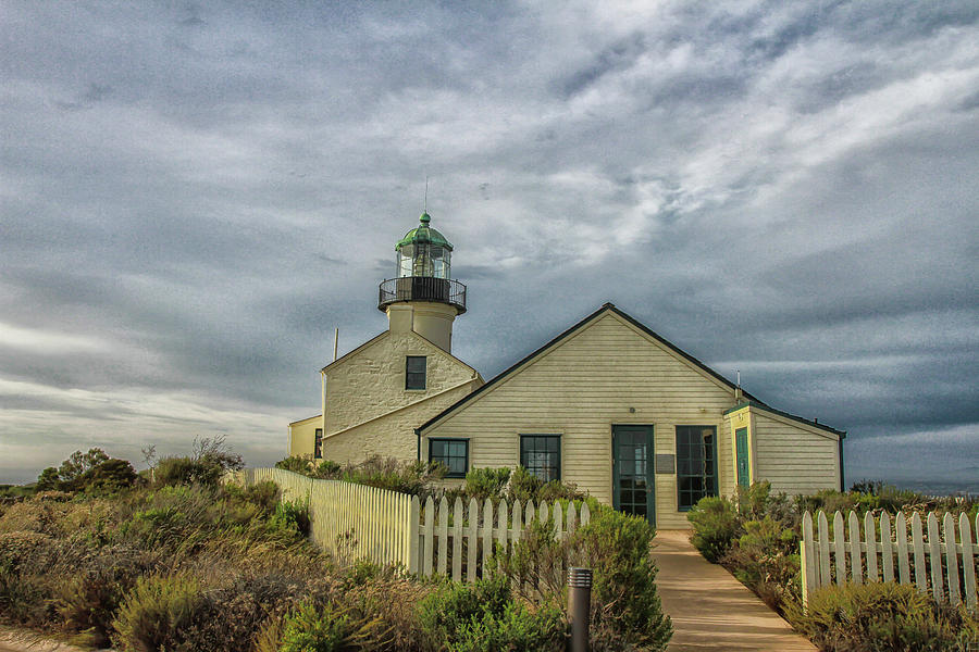 Point Loma Lighthouse 2 by Robert Hebert