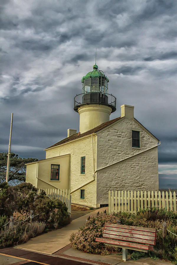 Point Loma Lighthouse by Robert Hebert