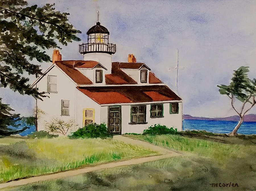 Point Pinos Lighthouse by M Carlen