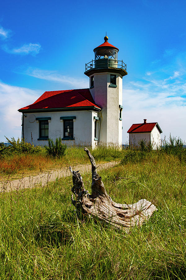 Point Robinson Lighthouse by Larry Waldon