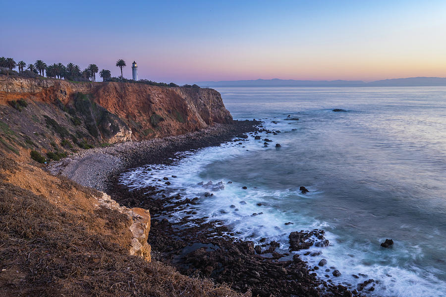 Point Vicente Lighthouse Long Exposure by Andy Konieczny