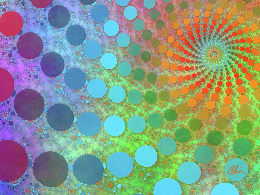 Pointillistic Fractal by Blair Gibb