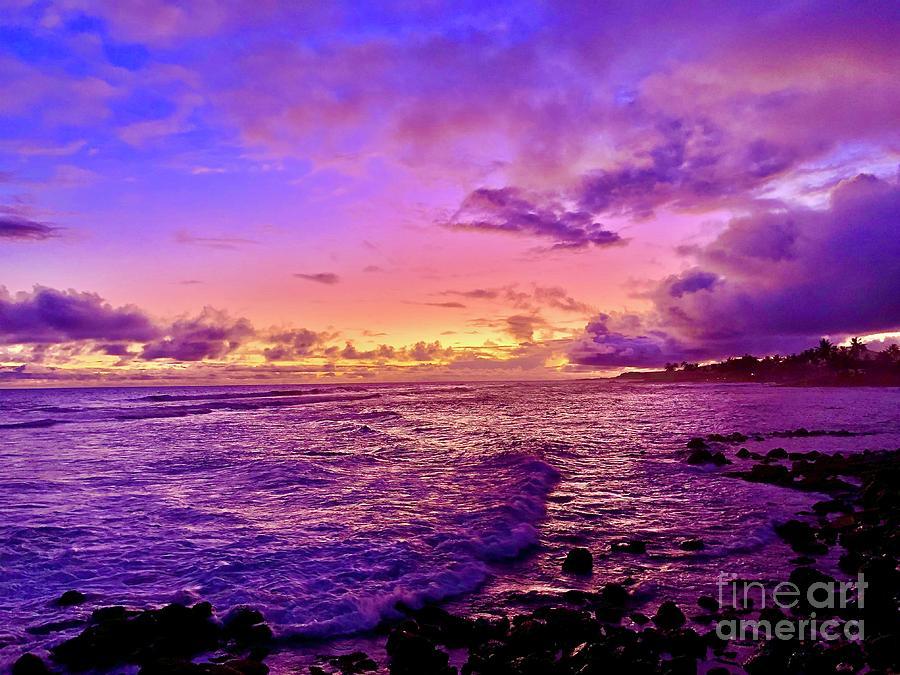 Poipu Sunset by Joseph Noonan
