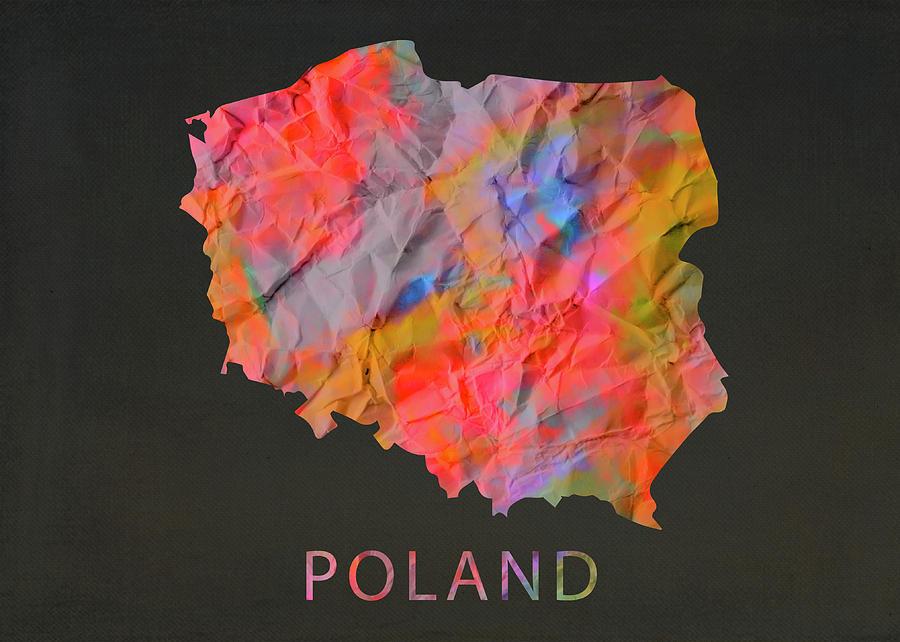 Tie Dye Print Polish Case