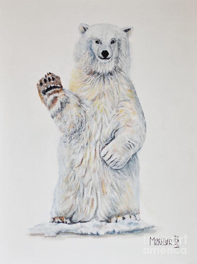 Polar Bear Baby 2 by Marilyn McNish