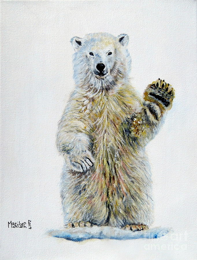 Polar Bear Baby by Marilyn McNish