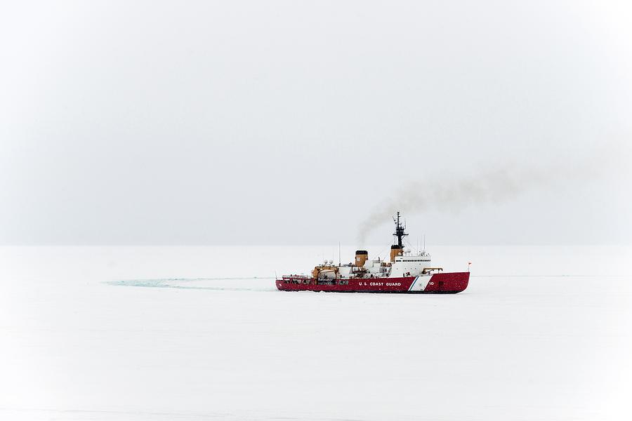 Red Photograph - Polar Star by Brian Stetson