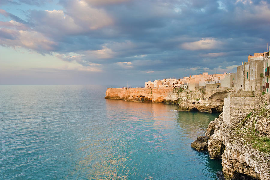 Polignano A Mare On The Adriatic Sea Photograph by David Madison