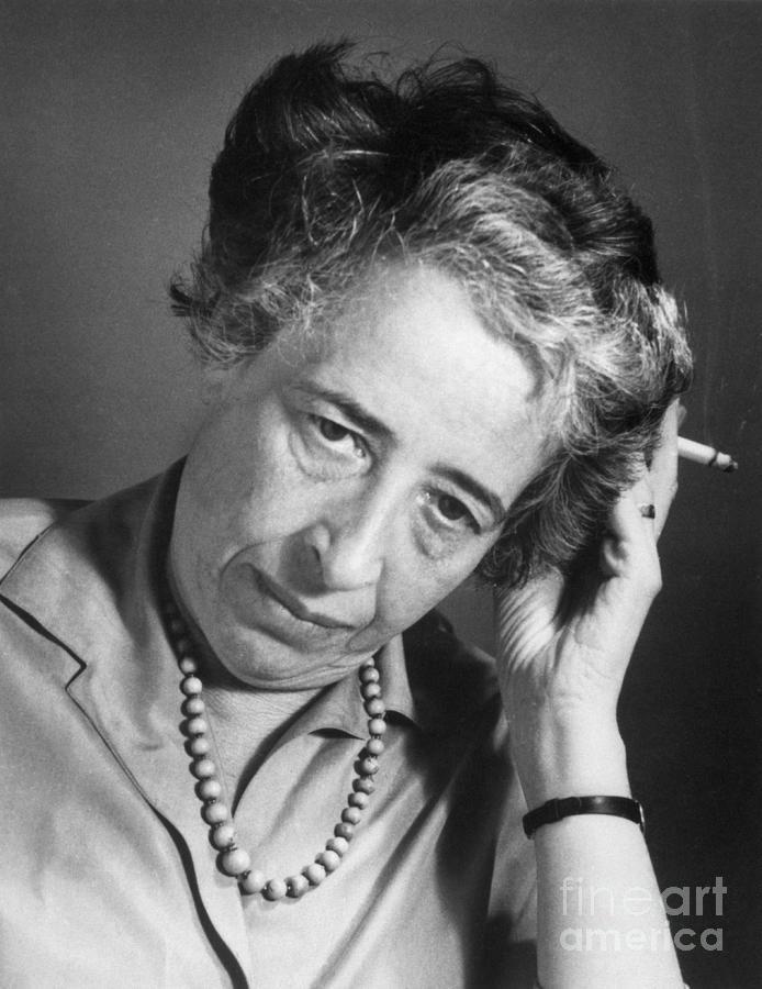 Political Theorist Hannah Arendt Photograph by Bettmann
