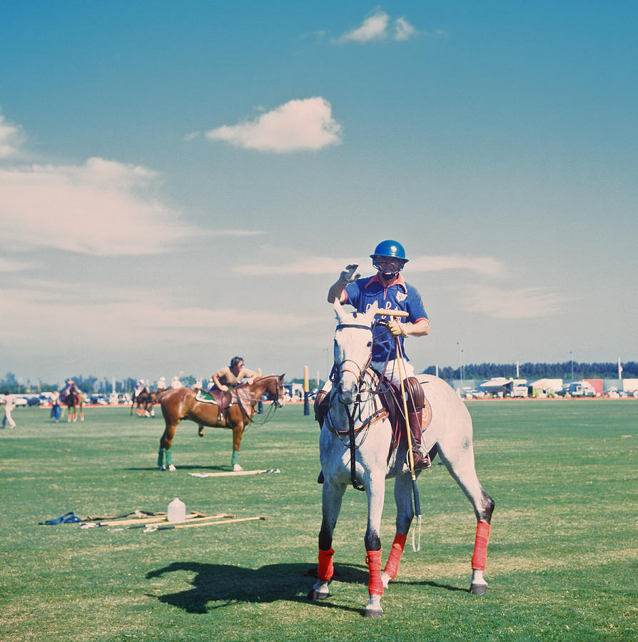 Polo In Florida Photograph by Slim Aarons