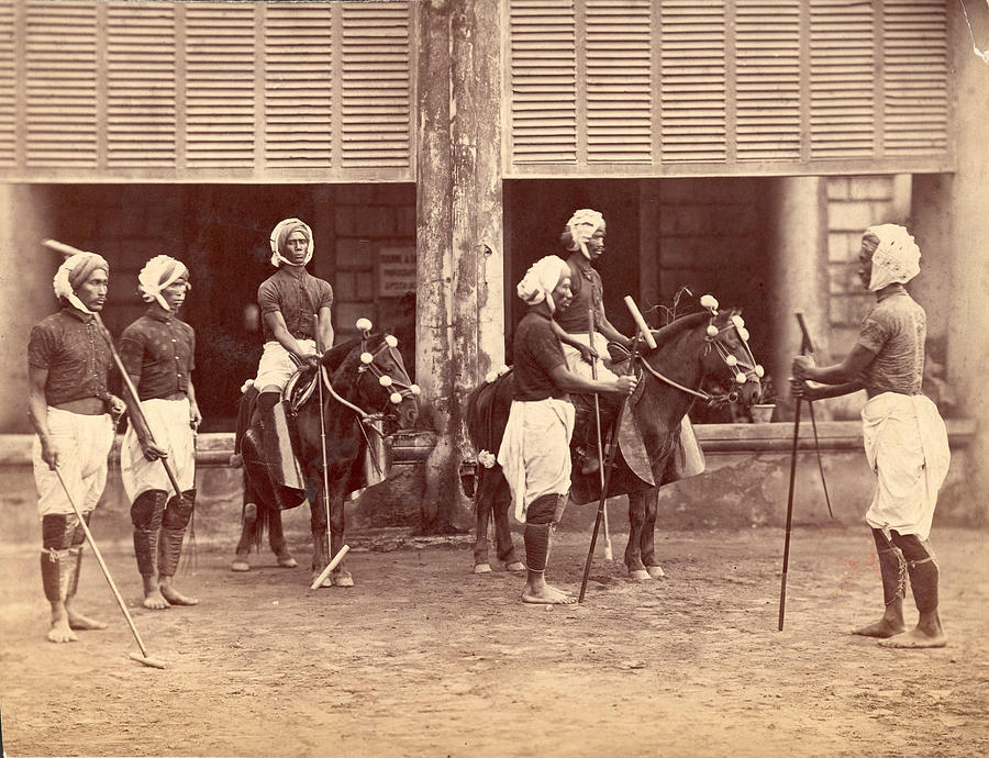 Polo In India Photograph by Henry Guttmann Collection