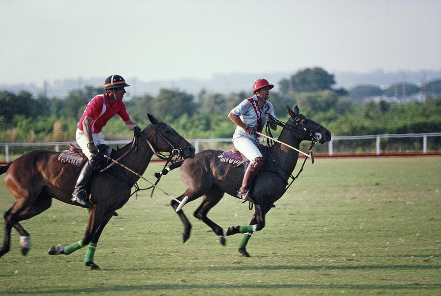 Polo In Italy Photograph by Slim Aarons