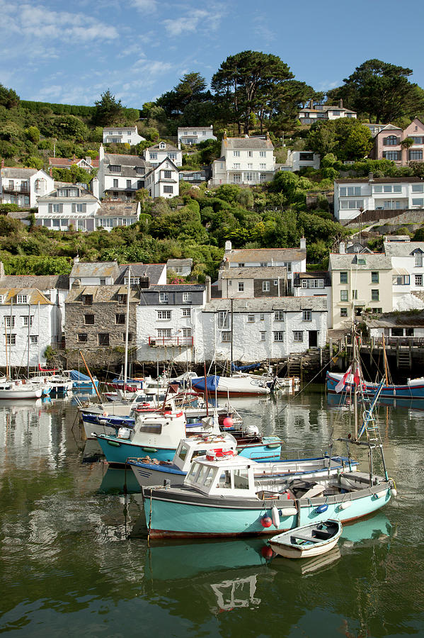 Polperro Harbour, Cornwall Photograph by Paulaconnelly
