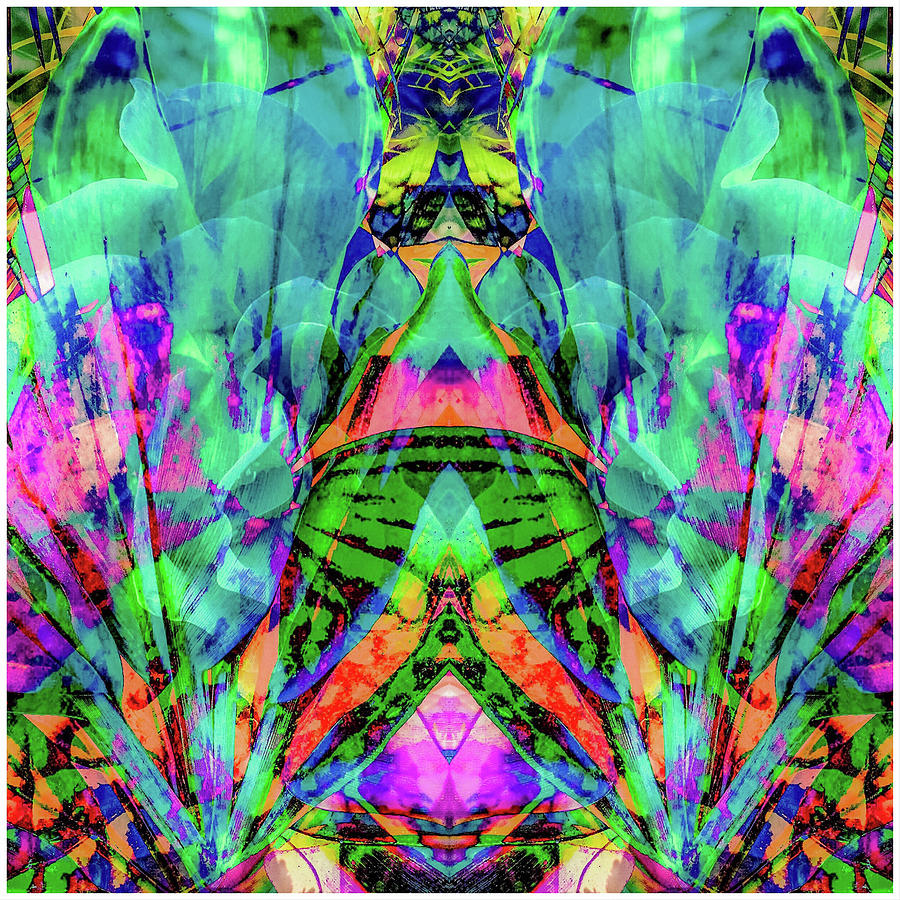 Meke Digital Art - Polynesian Rain Dance by Don Wright
