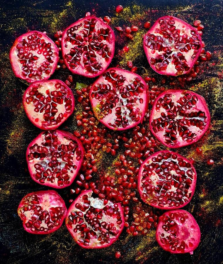 Pomegranate New Year by Sarah Phillips