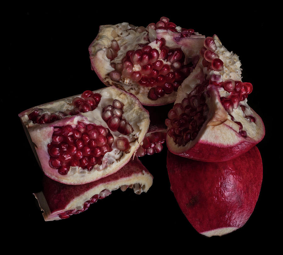 Pomegranate Seeds Photograph by Bill Gracey
