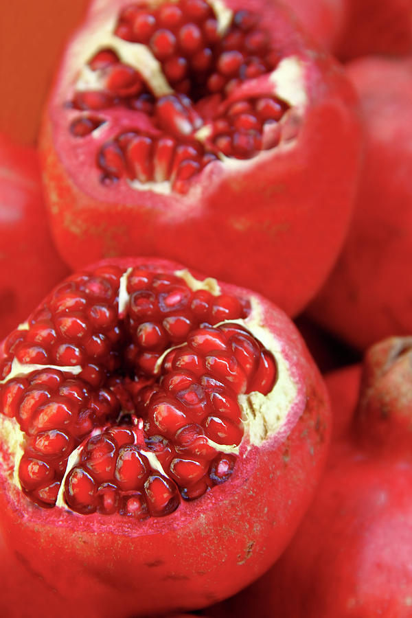 Pomegranates Photograph by Oonal